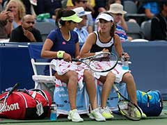 Sania Mirza-Martina Hingis Lose In Semis of WTA Finals
