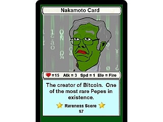 NFT of Bitcoin Founder Satoshi Nakamoto as Pepe the Frog Makes $350,000 in Sale