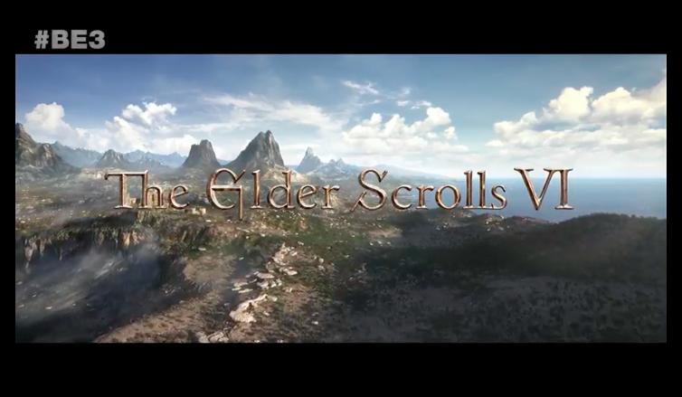 The Elder Scrolls VI and Bethesda's Original IP Starfield Announced at E3 2018