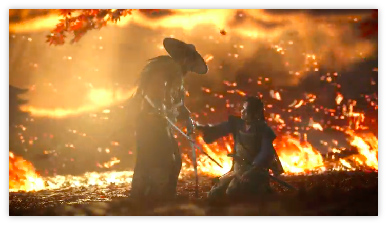 Ghost of Tsushima's E3 2018 Gameplay Trailer Shows a Vivid World and Fluid Combat