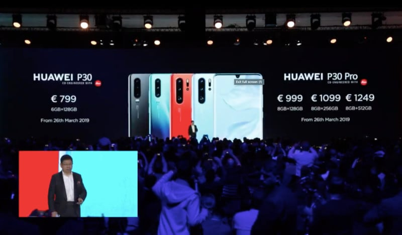 Huawei P30, P30 Pro, Watch GT Elegant, Watch GT Active, and More Announced: Event Highlights