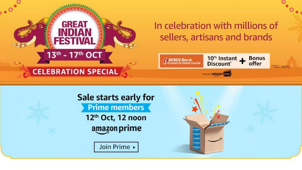 Amazon Great Indian Festival 2019: Celebration Special Sale Announced - Here's What You Can Expect