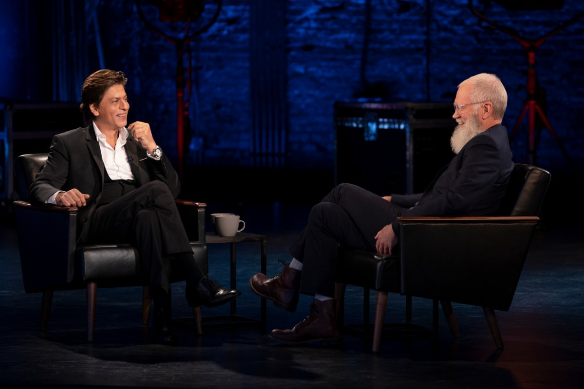 Shah Rukh Khan, David Letterman Netflix Special Announced