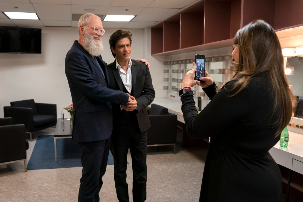 Shah Rukh Khan David Letterman Netflix 7 Shah Rukh Khan David Letterman