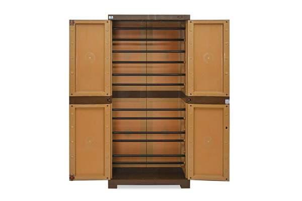 Nilkamal Freedom Mini 18 (FMSC18) Plastic Shoe Cabinet
