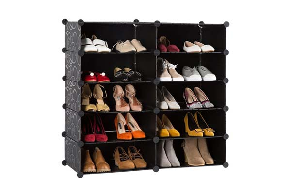 Styleys Shoe Rack with Cover for Home/Office Wardrobe
