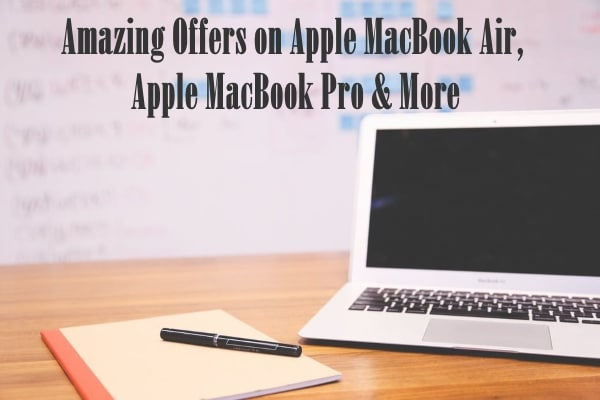 Shop Apple MacBook Air, MacBook Pro, Laptops at Showering Discounts on Paytm Mall