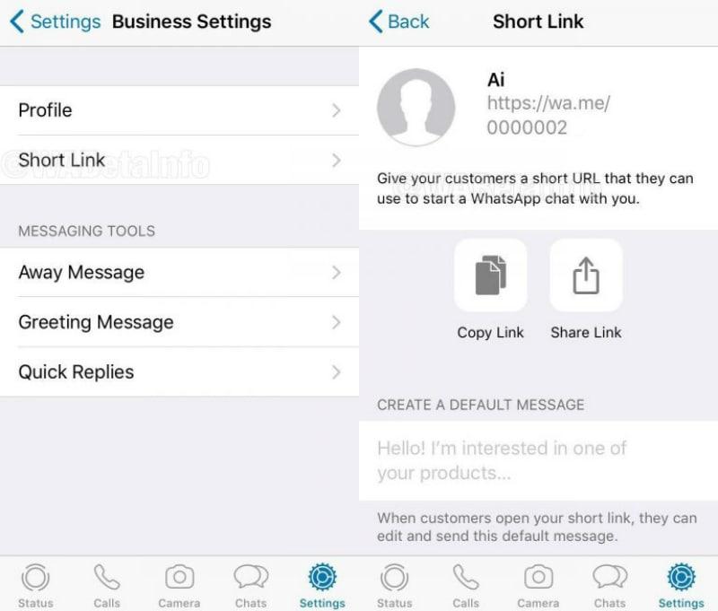 ShortLink Business whatsapp wabetaiinfo main WhatsApp