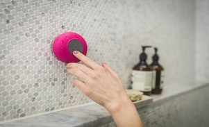Best Waterproof Shower Speakers. Enjoy Your Music Under The Shower