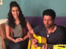 Farhan Akhtar - Shraddha Kapoor's Musical <i>Diwali</i> Greeting For <i>Rock On 2</i> Fans