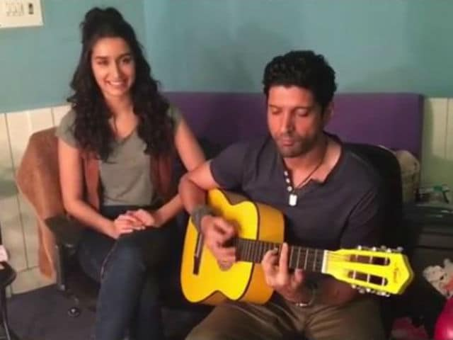 Farhan Akhtar - Shraddha Kapoor's Musical Diwali Greeting For Rock On 2 Fans