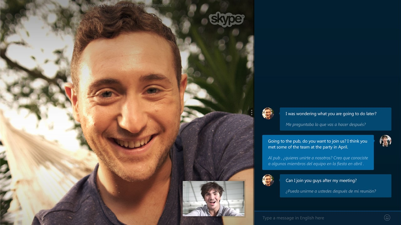 Skype Translator 2016 Staff Picks Skype Translator