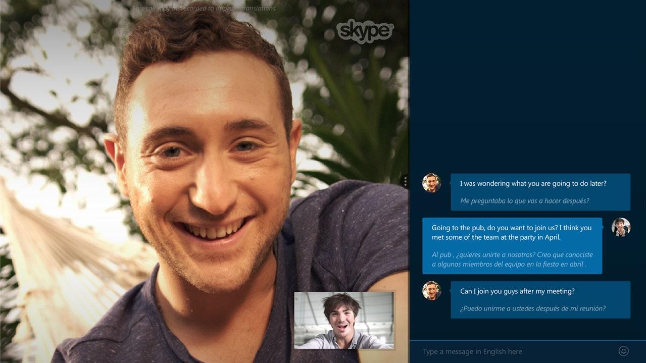 Skype Translator 2016 Staff Picks Skype Translator
