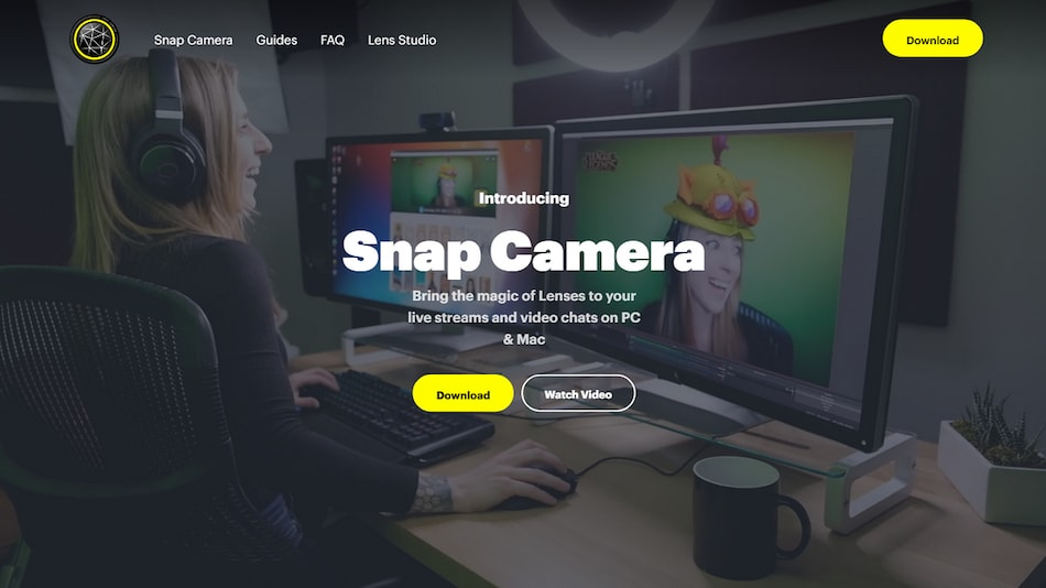 Snapchat Desktop App Snap Camera Lets You Become a DreamWorks-Style Cartoon in Zoom Calls: How to Use