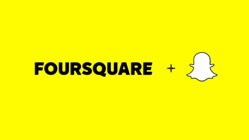 Snapchat Partners Foursquare to Enable Location-Specific Geofilter Advertising