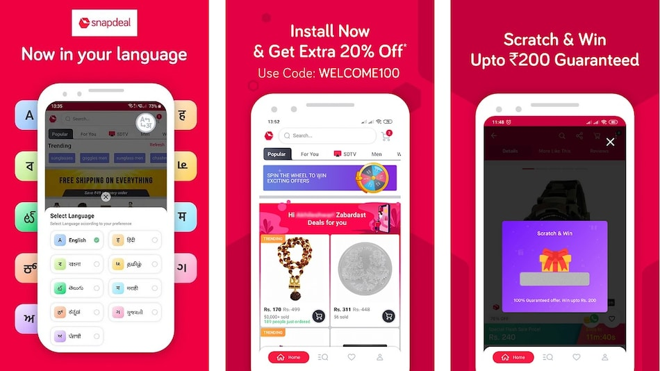 Snapdeal 'Kum Mein Dum' Diwali Sale Starting October 16 With Discounts on Daily-Use Gadgets, More