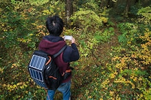 Solar Panel Backpacks that Charge your Device on the Go!
