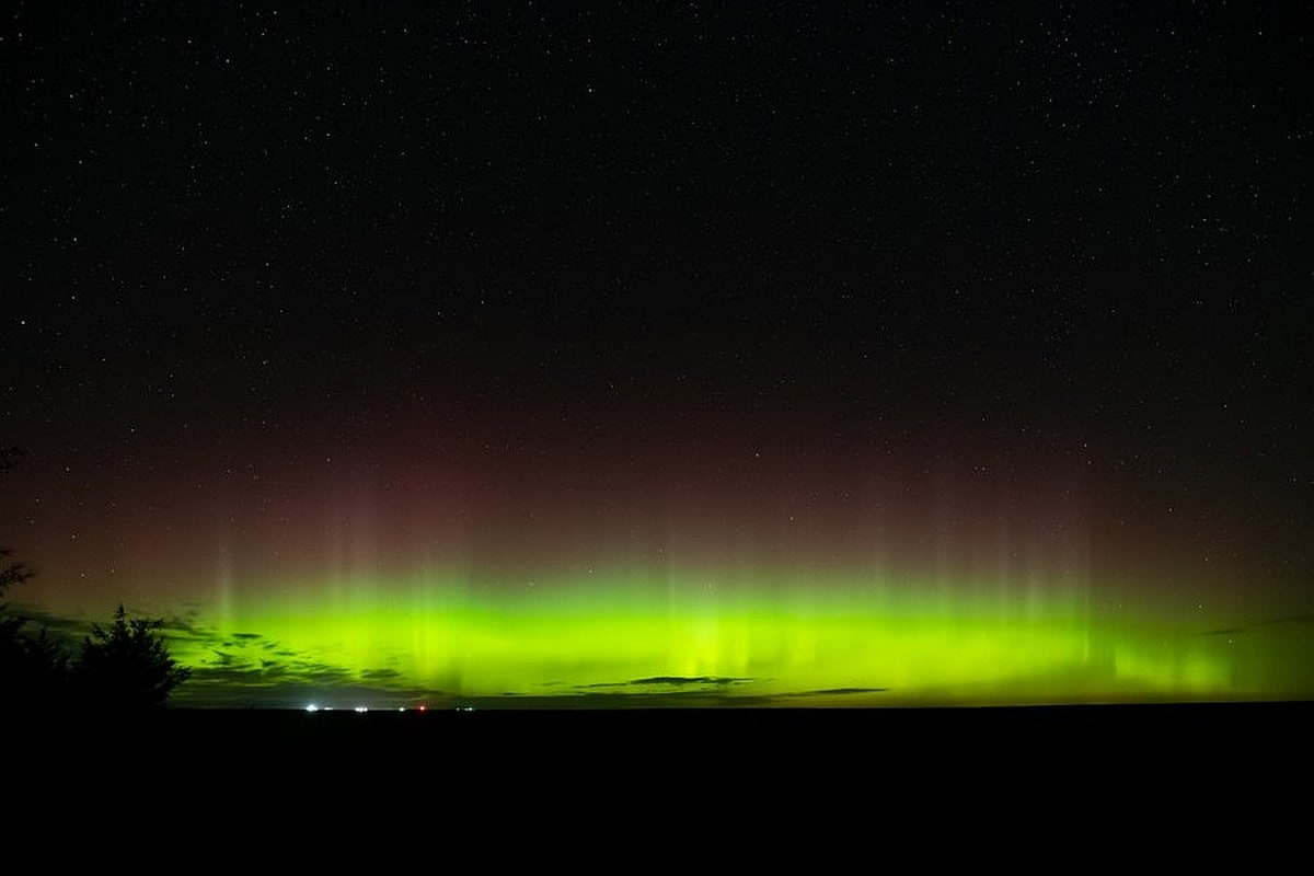 Moderately Strong Solar Storm Creates Spectacular Light Show in New York