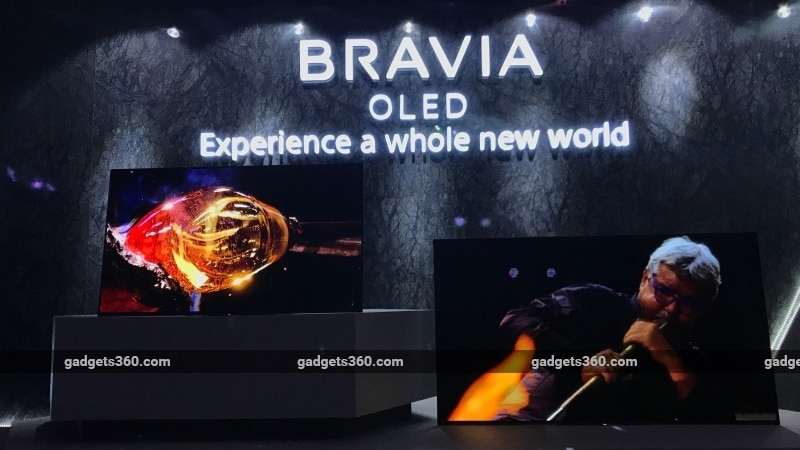 Sony A1 Bravia 4K OLED HDR TVs Launched in India Starting Rs. 3,64,900