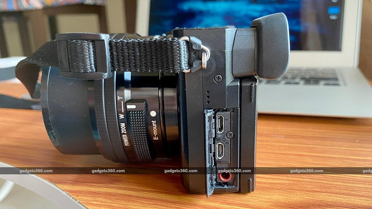 Sony A6100 ports sony