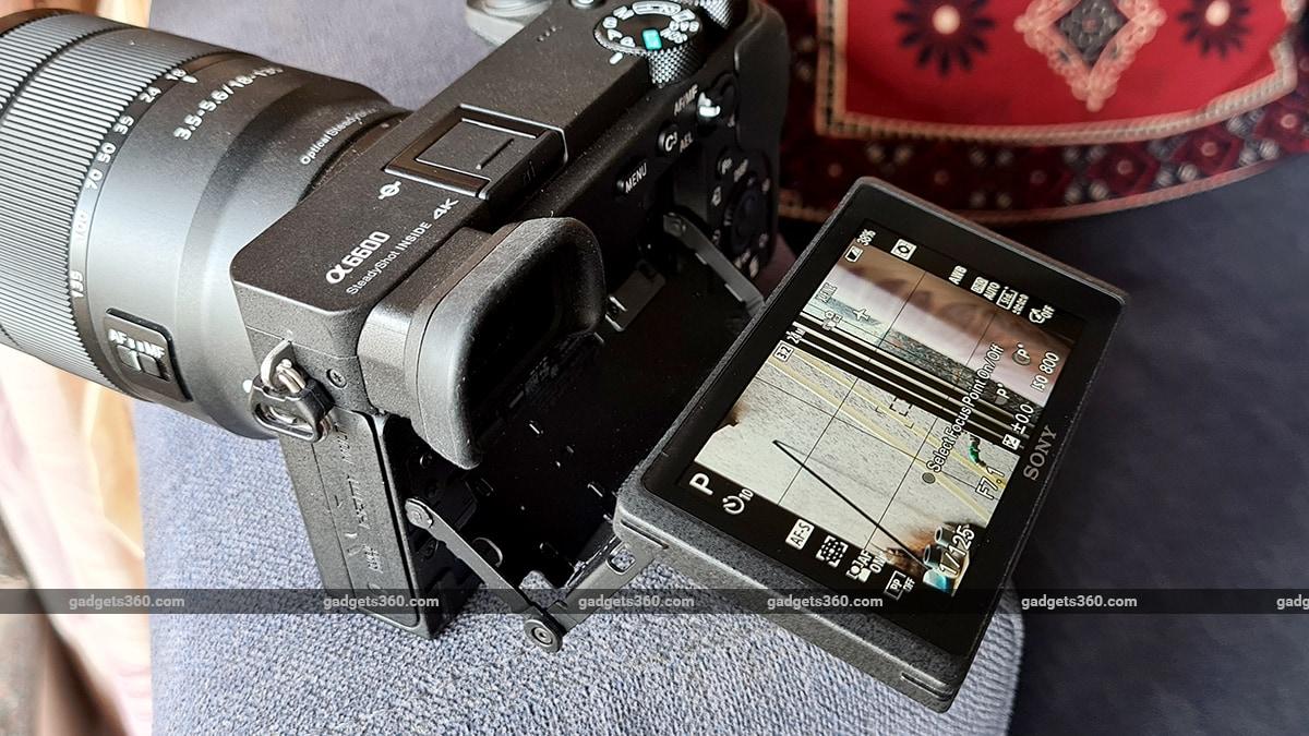 Sony A6600 lcd sony