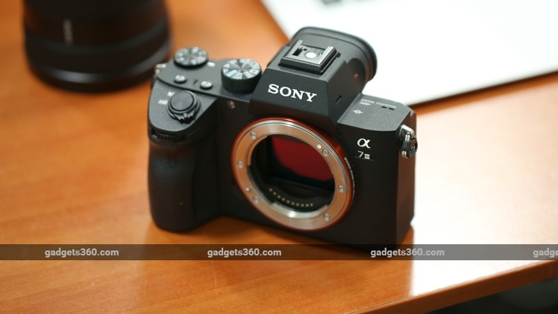 Sony A7 III cover ndtv sony