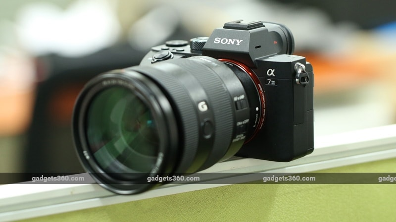 Sony A7 III Mirrorless Interchangeable-Lens Camera Review | NDTV ...