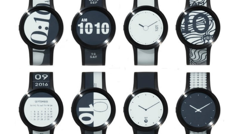 Sony FES Watch U E-Paper SmartWatch Launched on Its Crowdfunding Platform