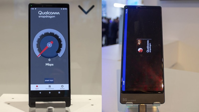 Sony Xperia 5G Prototype Showcased at MWC 2019