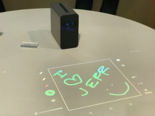 Sony Xperia Touch Interactive Android Projector, Xperia Ear Open-Style Concept Announced at MWC 2017