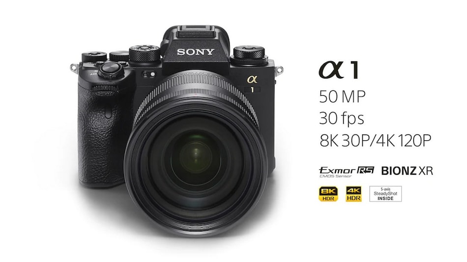 Sony Alpha 1 Mirrorless Camera With 50.1-Megapixel Sensor, Up to 8K Recording Launched in India