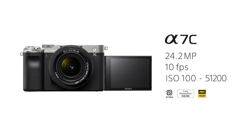 Sony Alpha 7C Full-Frame Camera With Exmor R CMOS Sensor, AI-Driven Real-Time Eye Autofocus Launched in India