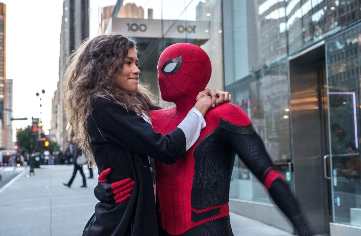 Spider Man Far From Home Zendaya MJ Tom Holland Spider Man Far From Home