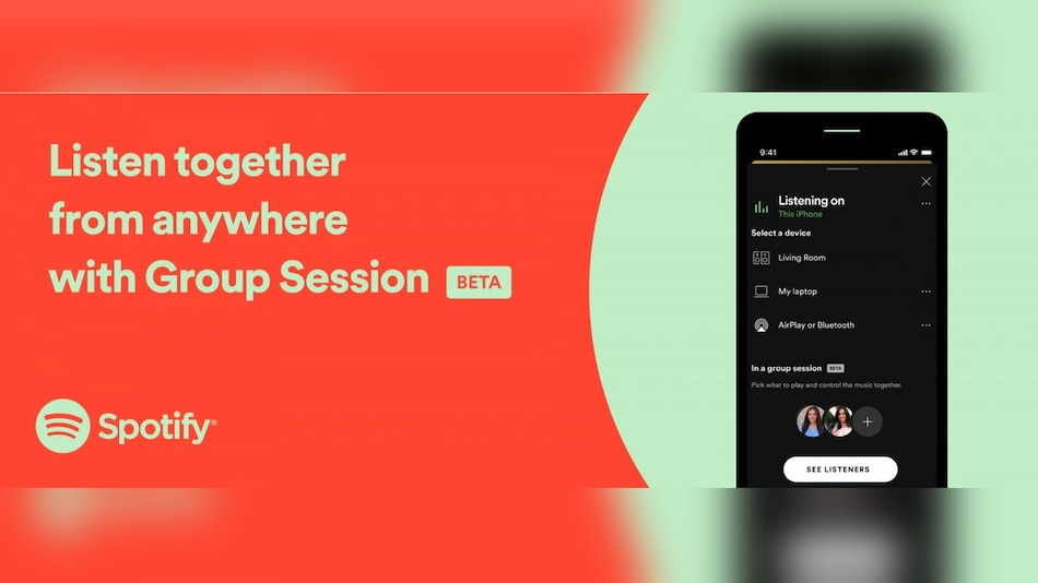 Spotify Group Session Allows 5 People to Listen Together Remotely; Chromecast Support Added to Desktop App, Web Client
