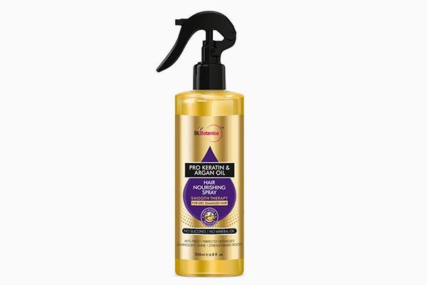 StBotanica Pro Keratin Argan Oil Hair Nourishing Smooth Therapy Spray 1612208837982