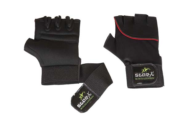 Star X GG LN 700 Neoprene and Lycra Gym Gloves 1559109094738