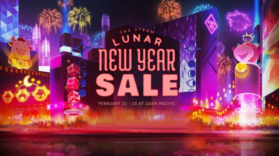 Steam Lunar New Year Sale Is Underway With Up to 80 Percent Discount on Games