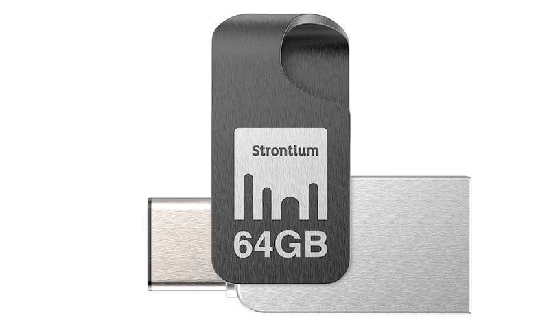 Strontium Nitro Plus Type C USB 3.1 Flash Drive Type A to Type C Pen Drive