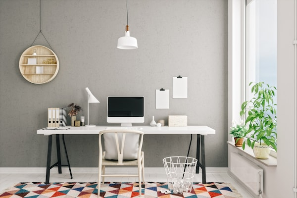 Work And Study Desks For Homes: Chic And Comfy Workstations