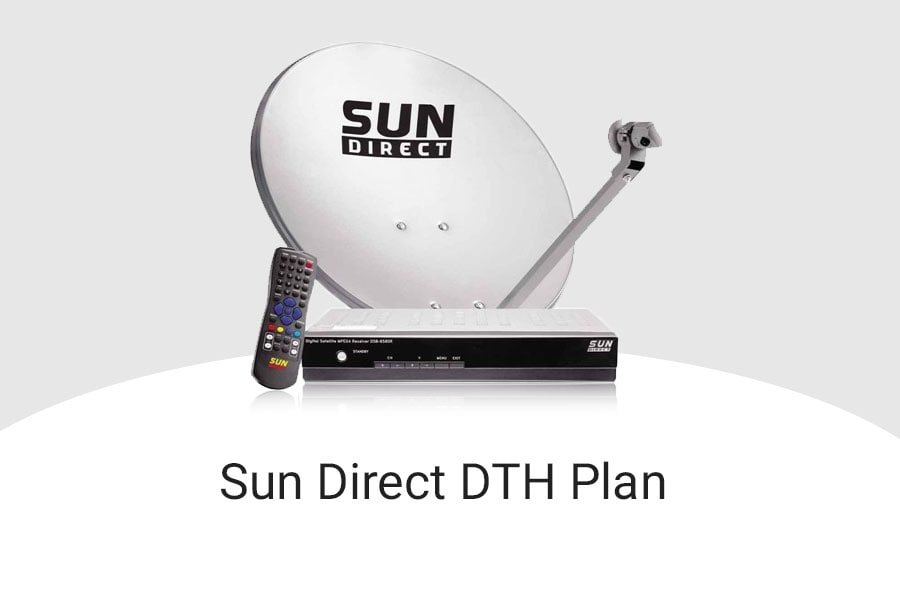 Sun Direct Plans 2019, Sun Direct Recharge Packs with Price