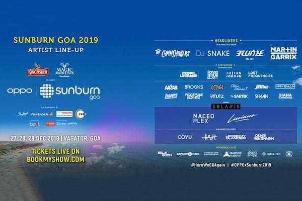 Sunburn Goa 2019: Sunburn Goa Ticket Price, Book Sunburn Goa Tickets Online BookMyShow