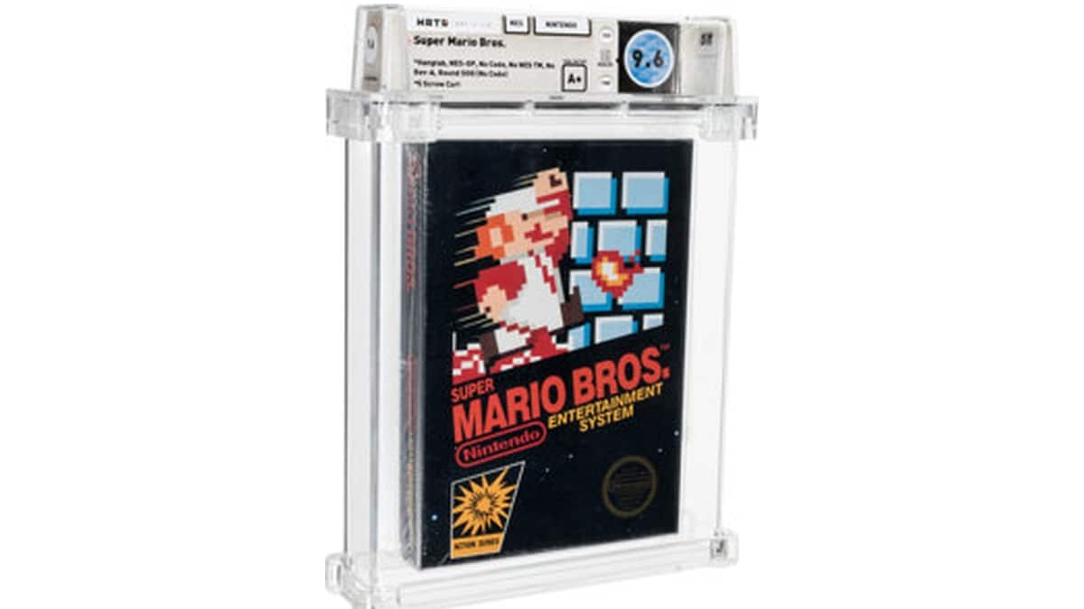 Nintendo's Super Mario Bros. From 1986 Auctions for 0,000