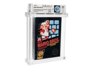 Super Mario Bros. Nintendo Game From 1986 Auctions for $660,000