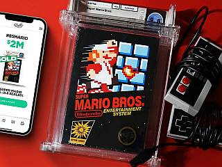 Super Mario Bros Nintendo Game From 1985 Sold for $2 Million in a New Record