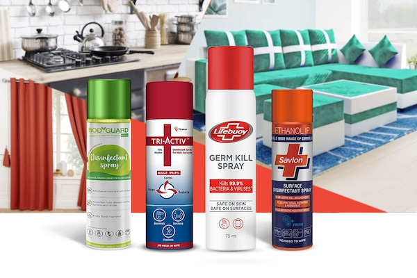 Surface Disinfectant Sprays: Easiest Way To Disinfect Everything Around You