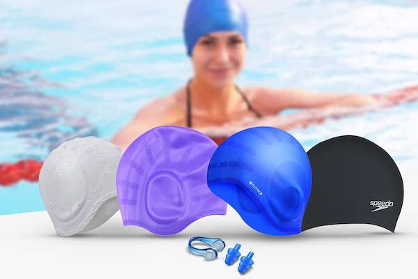 Best Swimming Caps To Keep Your Hair In Place And Safe