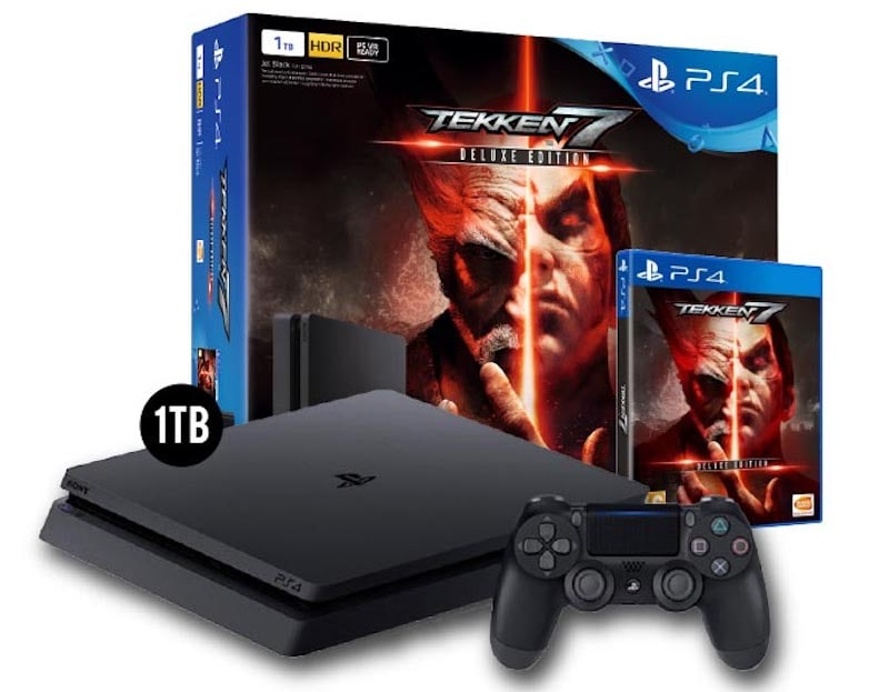 PS4 Slim Tekken 7 Deluxe Edition Bundle India Price, Availability