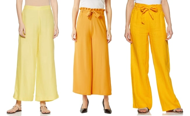 Taapsee Pannu Game Over Promotions Yellow Trouser 1559635116578