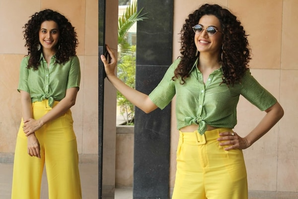 Choose To Look Spunky Like Taapsee This Summer