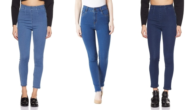 Tara Sutaria Casual Style Blue Denim Jeans 1557486911381